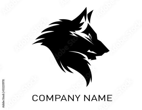 Tableau sur Toile Conception de loup