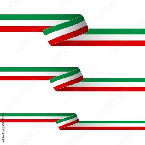 Obraz na płótnie Nastro tricolore_Italia