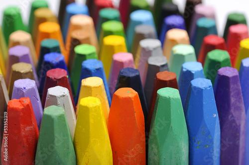Stacks Of Crayon