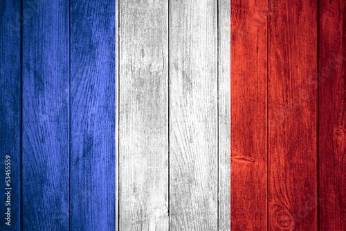 Wallpaper Mural flag of France