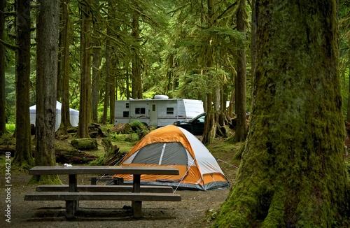 The Campground Tapéta, Fotótapéta