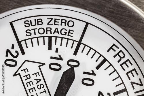 Sub Zero Storage Refrigerator Thermometer