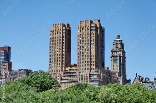 Obraz na plátne sky scrapers Central Park