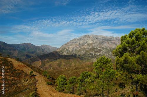 Canvastavla Torrecilla, Sierra de las Nieves