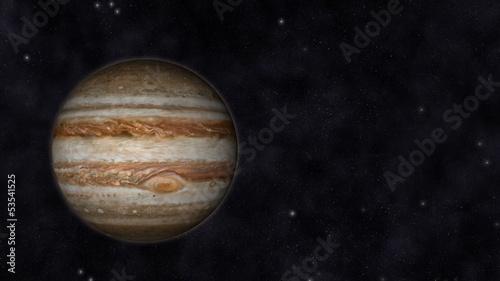 Canvas Print Planet Jupiter
