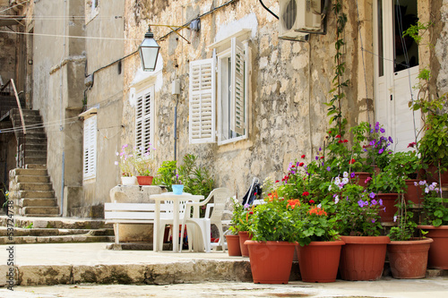 Terracotta pots and homes