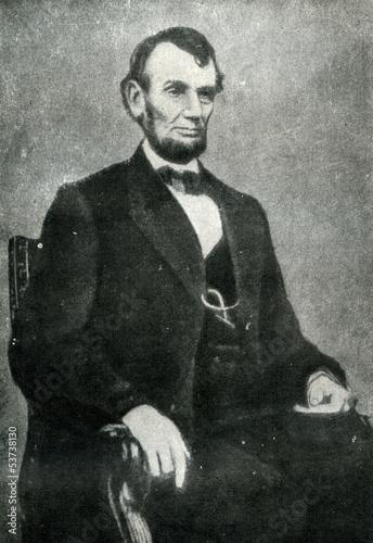 Wallpaper Mural Abraham Lincoln (9. february, 1864)