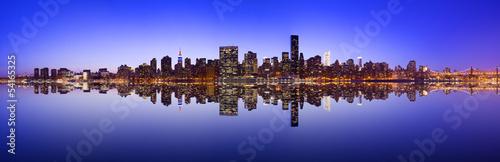 Midtown Manhattan Skyline Panorama #54165325
