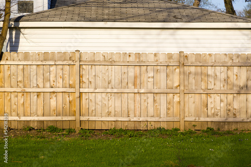 Fotografie, Tablou wooden fence