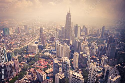 modern city in Kuala Lumpur #54326725