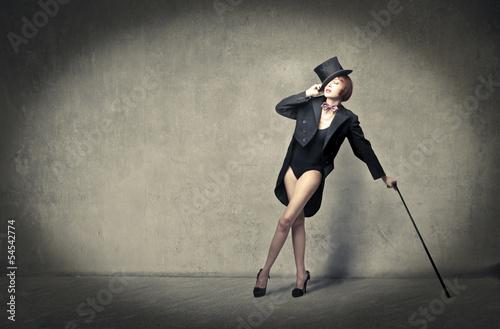 Fotografie, Tablou cabaret