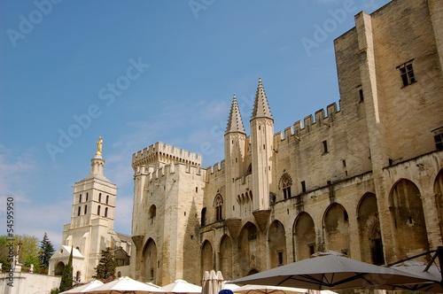 Fotomural Palais des Papes, Avignon