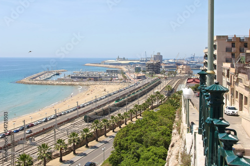 Port in Tarragona