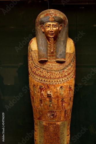 Wallpaper Mural Sarcophage. Metropolitan Museum New York
