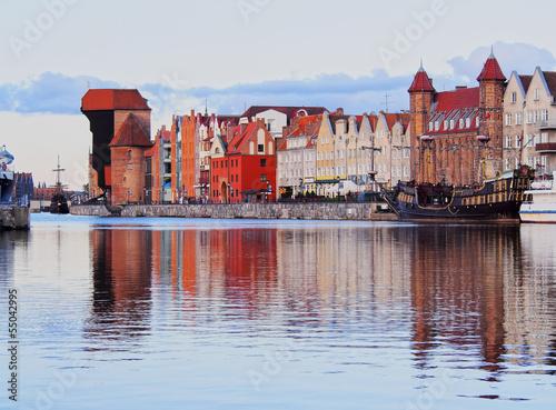 Old Port Crane in Gdansk, Poland #55042995