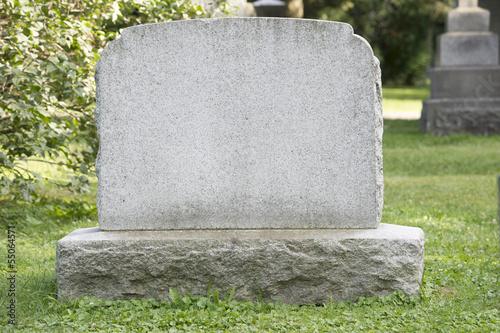 Canvas-taulu Blank Headstone