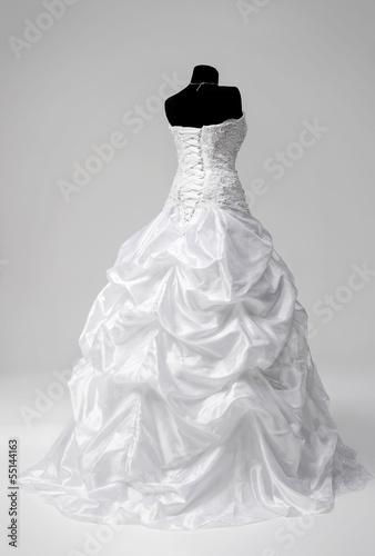 Carta da parati Wedding dress on a mannequin
