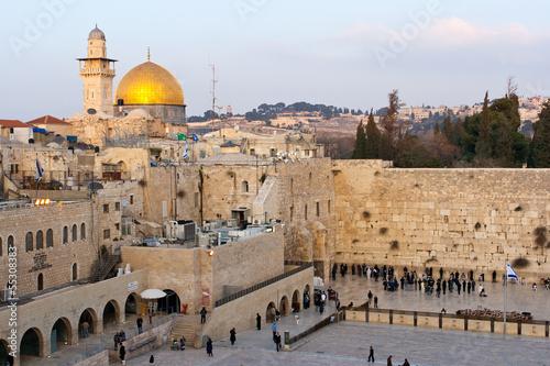 Fototapeta premium Ściana Płaczu, Jerozolima
