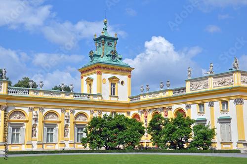 Fototapeta premium Pałac w Wilanowie -Warszawa
