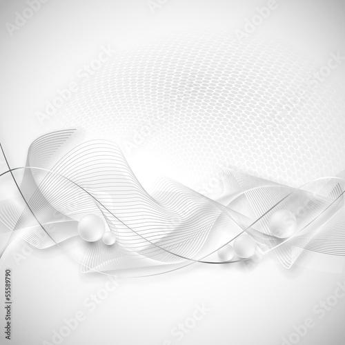 srebrno szare tło abstrakcja