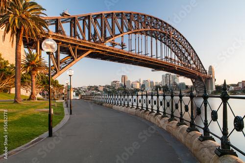 Photo Sydney Harbour Bridge At Sunrise