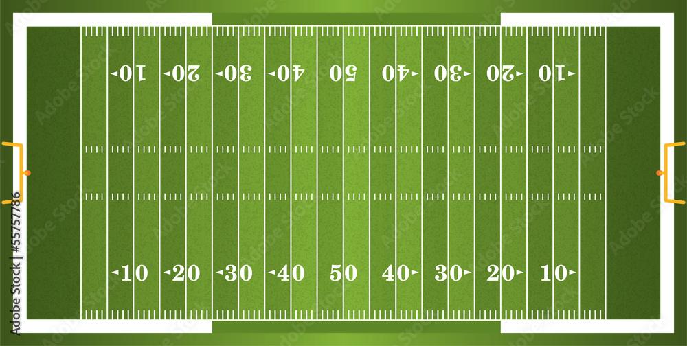 Teksturowane boisko do futbolu amerykańskiego <span>plik: #55757786   autor: enterlinedesign</span>