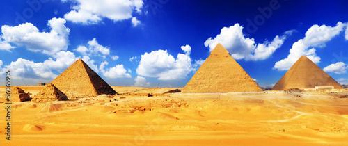 Great Pyramid  located at Giza . #56065905