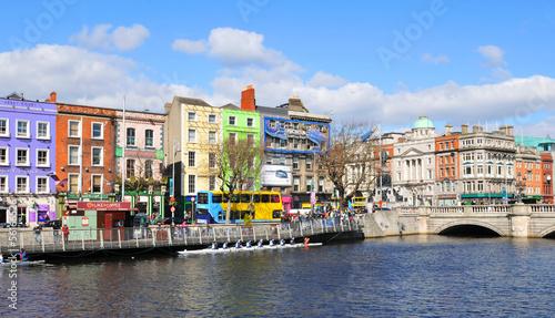 Canvas Print Dublin, Ireland