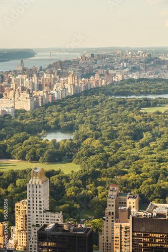Stampa su Tela Central Park New York City