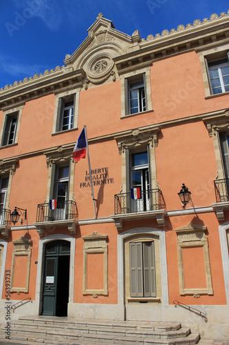 Obraz na płótnie Hôtel de ville de Saint-Tropez