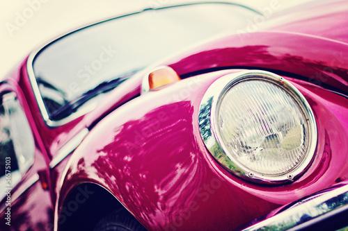 Naklejka na szafę VW Garbus - kultowy pojazd Niemiec