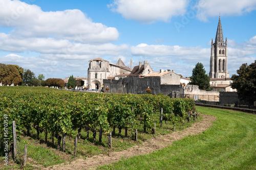 Tablou Canvas Saint-Emilion, a UNESCO World Heritage Site, France