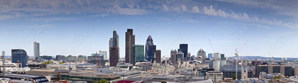Financial District and Downtown, London, UK <span>plik: #56719300 | autor: travelwitness</span>
