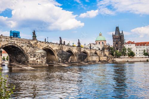 Canvas Charles bridge in Prague