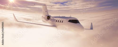 Obraz na plátně Corporate jet