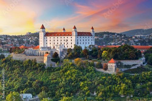 Canvas Print Bratislava castle, Slovakia