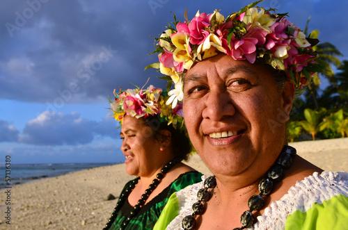 Fotografia Mature Polynesian Pacific Island Women