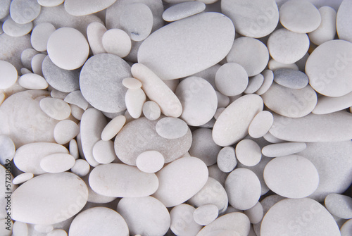 Fototapeta premium białe kamienie kamyki tło