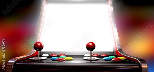 Cuadros en Lienzo Arcade Game With Illuminated Screen
