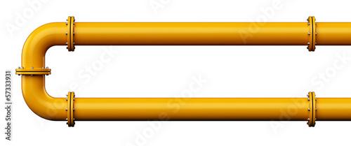 Fotografie, Obraz Industrial pipes