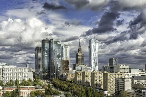 Warsaw downtown #57377769