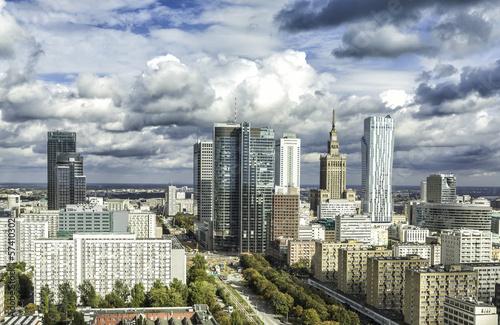Warsaw downtown #57410302