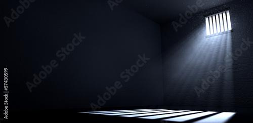 Photo Sunshine Shining In Prison Cell Window