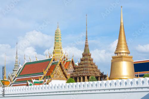 Pagoda at Wat Phra Kaew.