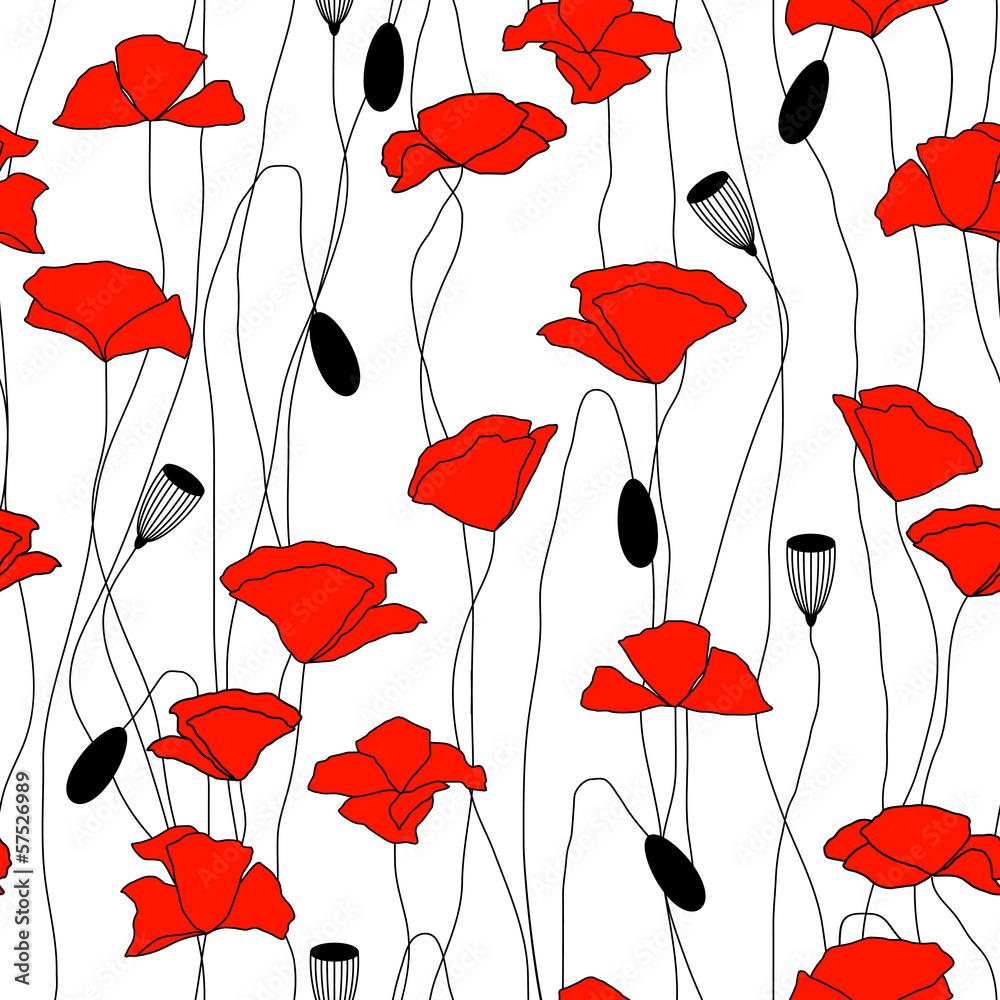 bez szwu kwiatów <span>plik: #57526989 | autor: lena_l</span>