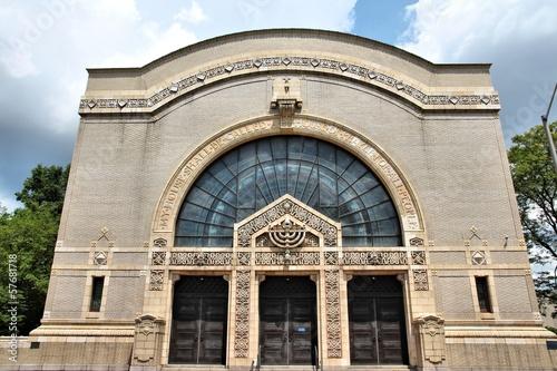 Obraz na płótnie Pittsburgh synagogue - Rodef Shalom temple