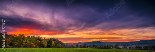 Cade's Cove at Sunset #57741507