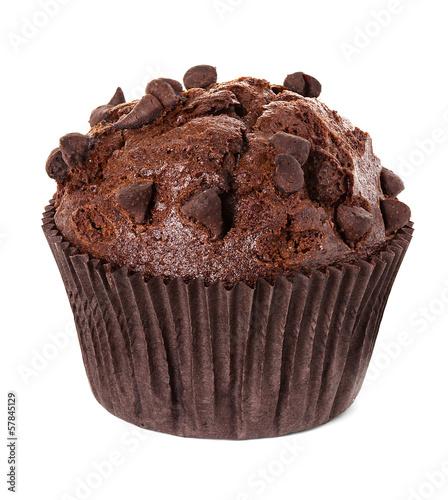 Fotografia muffin chocolate