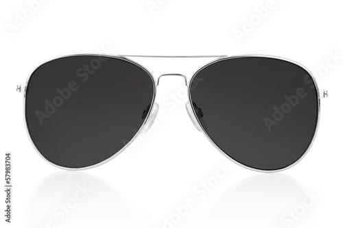 Slika na platnu Sunglasses isolated on white, clipping path included