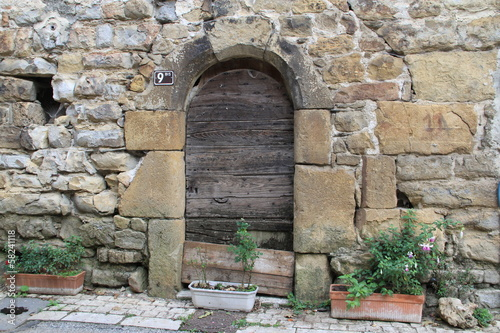 Photo architecture de lozère
